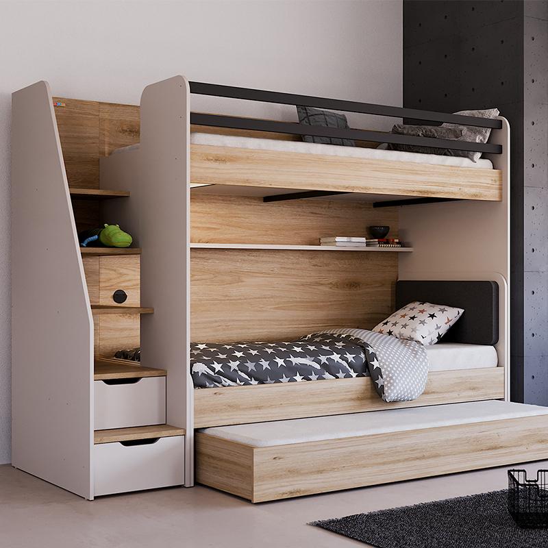 New Options Etagenbett Fur 3 Kinder Inkl Matratze Saloni Home